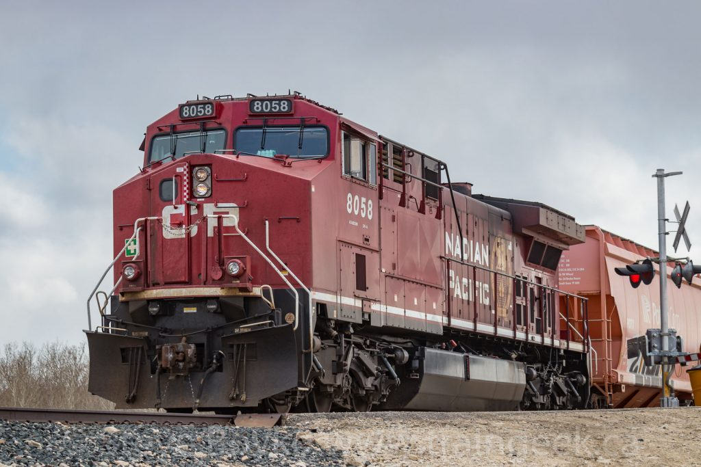 CP 8058 on the tail end