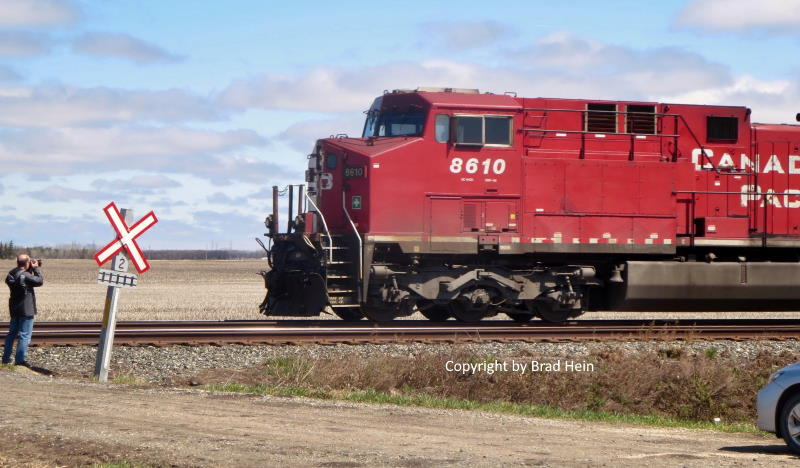 CP 8610 and me - Brad Hein