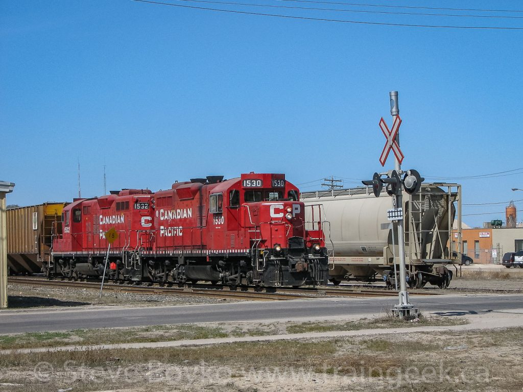 CP 1530 and 1532 in St. Boniface