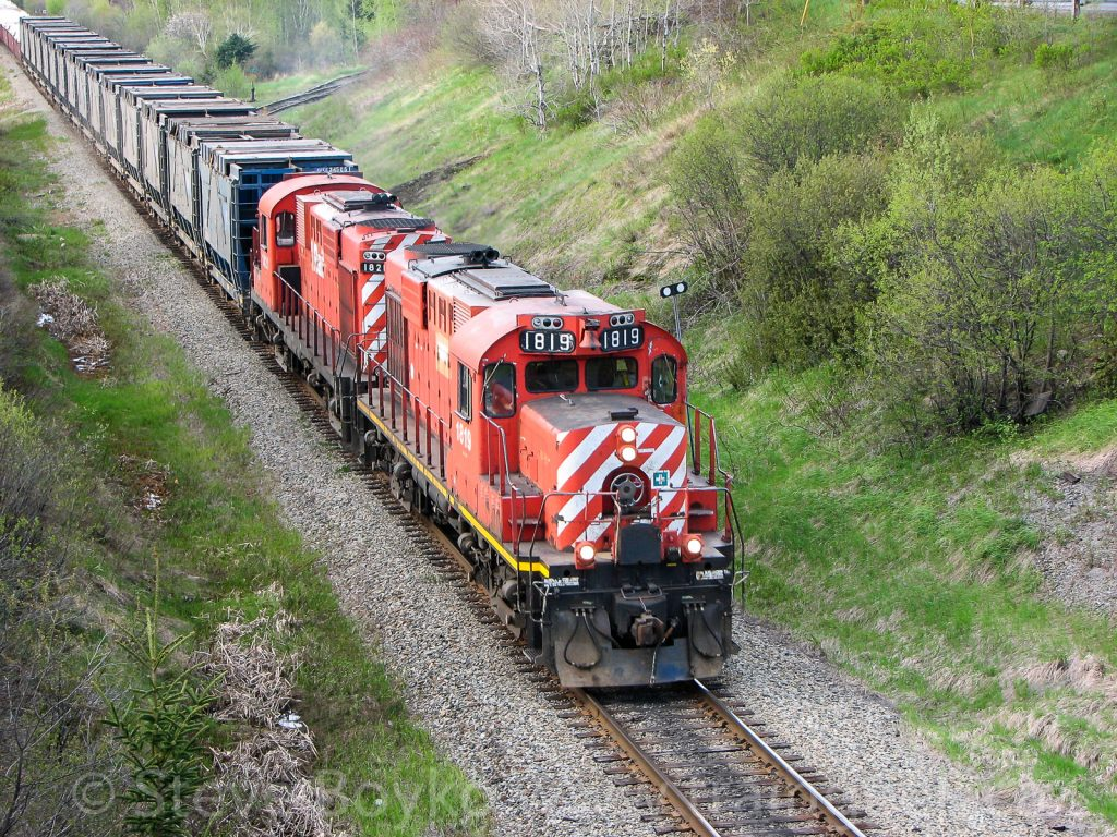 NBEC 1819 leaving Bathurst, NB May 26, 2008
