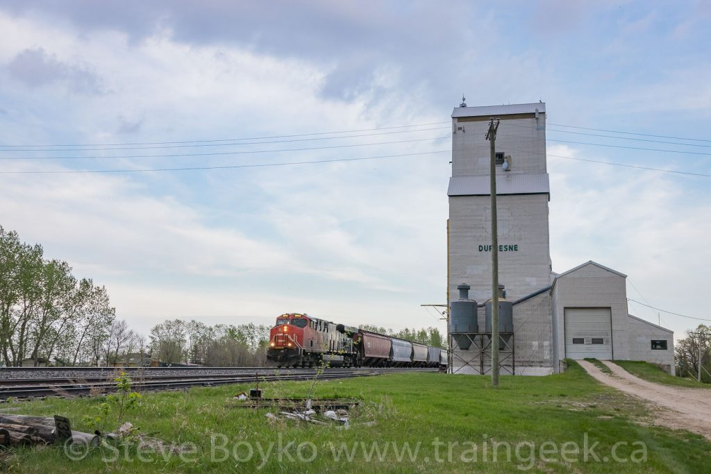 CN 2943 West at Dufresne, Manitoba