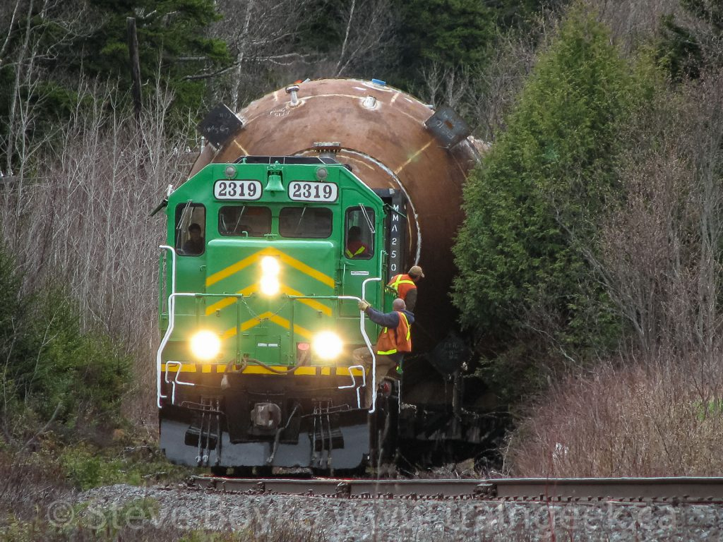 NB Southern 2319 heading up a special dimensional train on May 6, 2007.