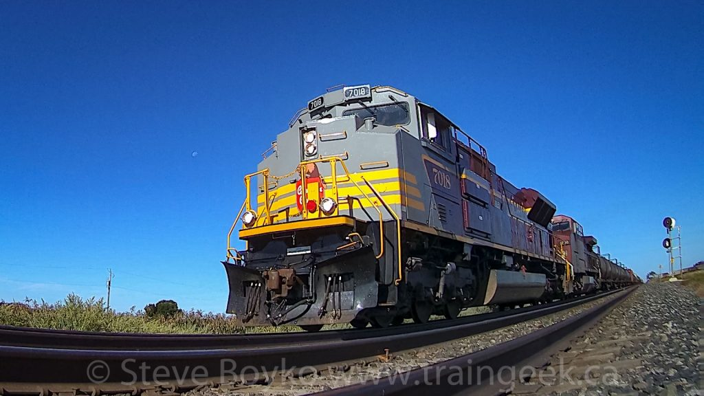 CP 7018 from ground level