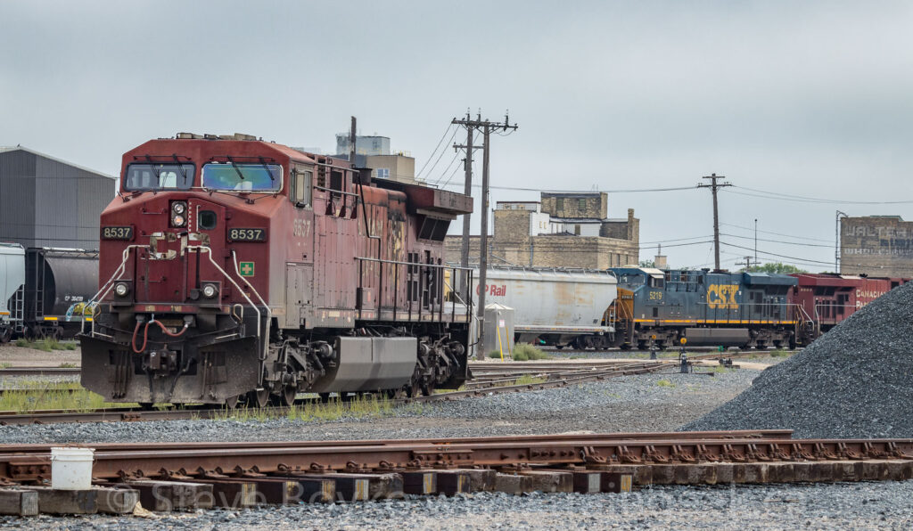 CP 8537 in Winnipeg