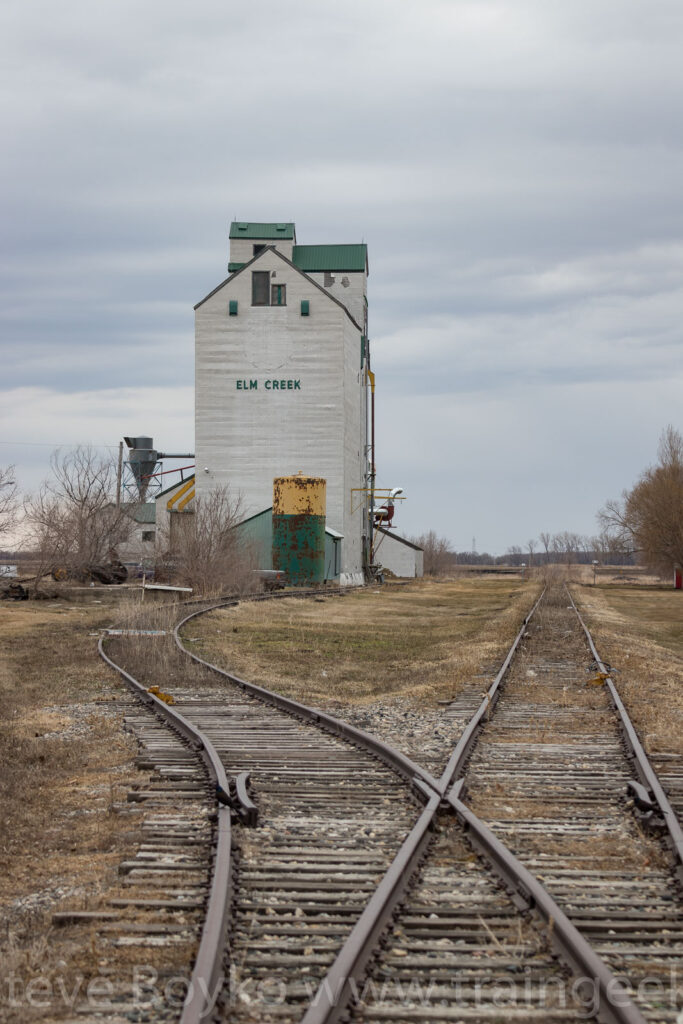 The ex Pool elevator in Elm Creek, MB