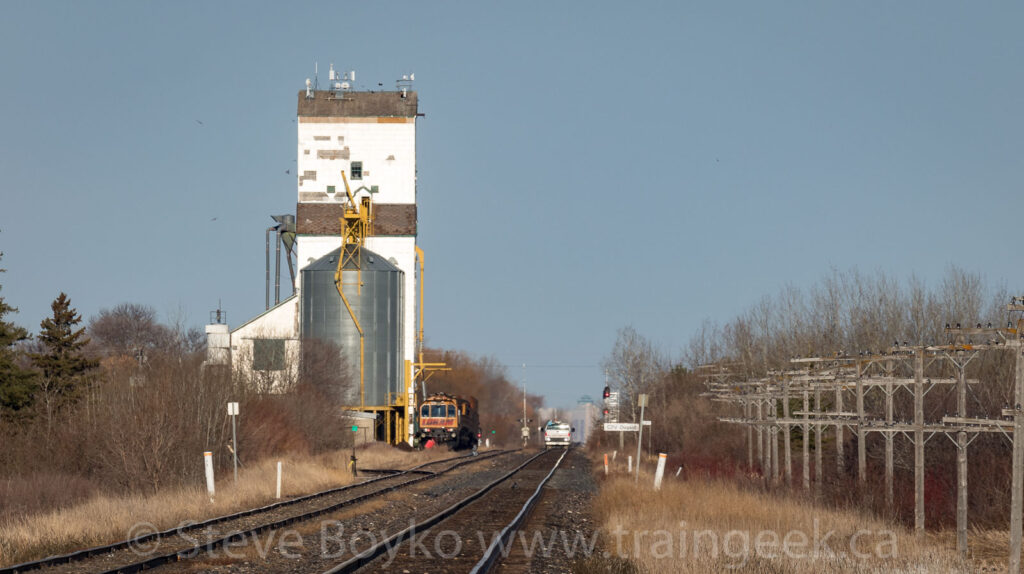 Loram grinder and the Dugald grain elevator