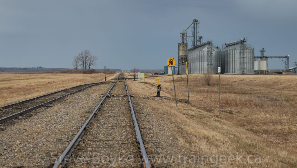 End of main track, Glenboro sub