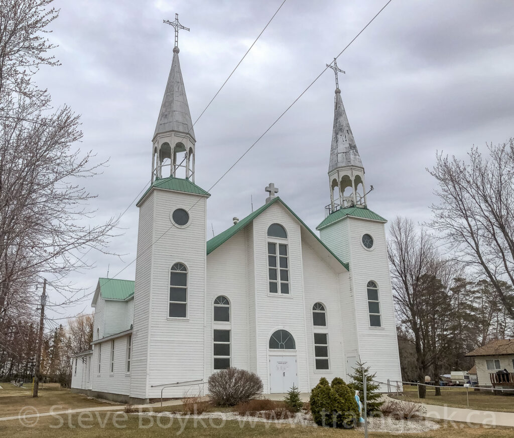 The Paroisse Saint-Denis in Haywood, MB