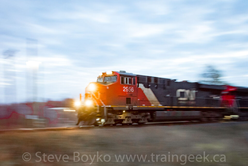 CN 2956 before sunrise