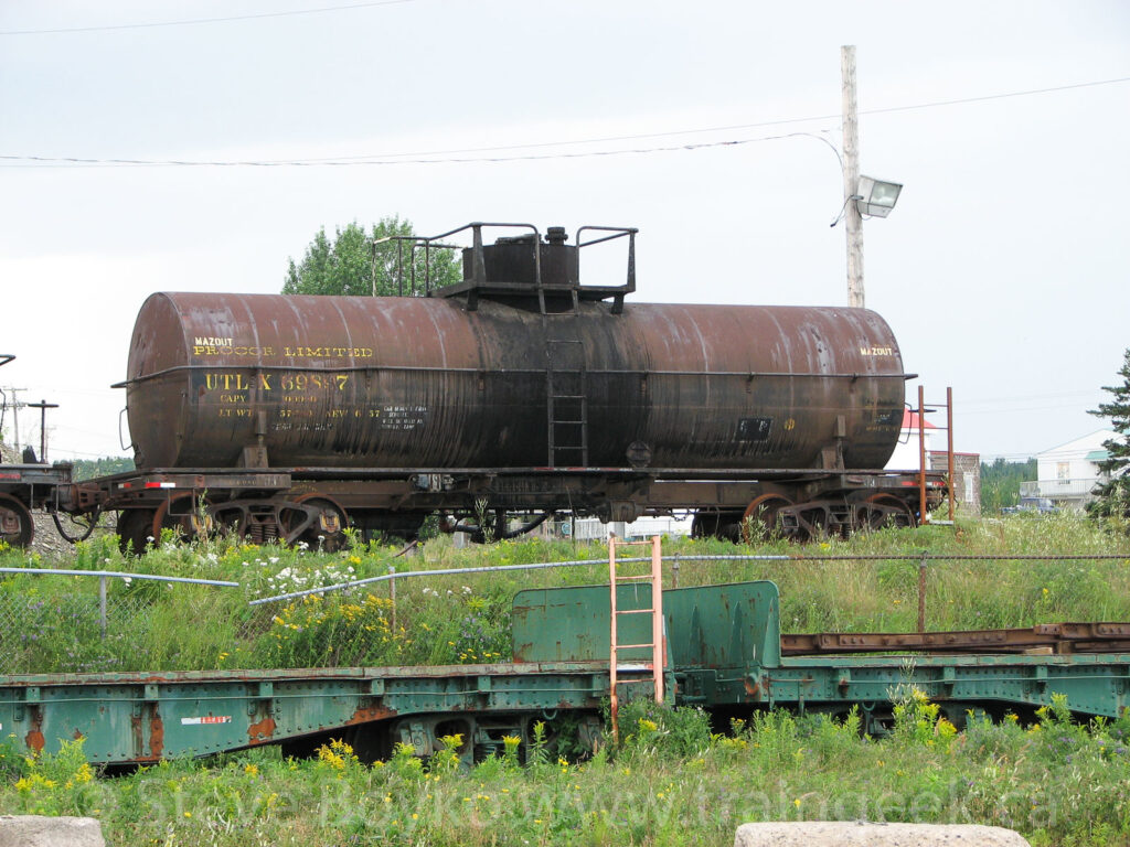 UTLX tank car in Chandler