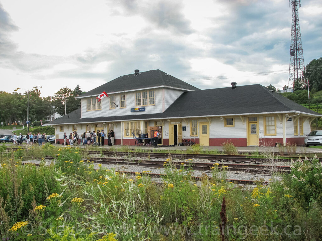 The train station at New Carlisle, Quebec