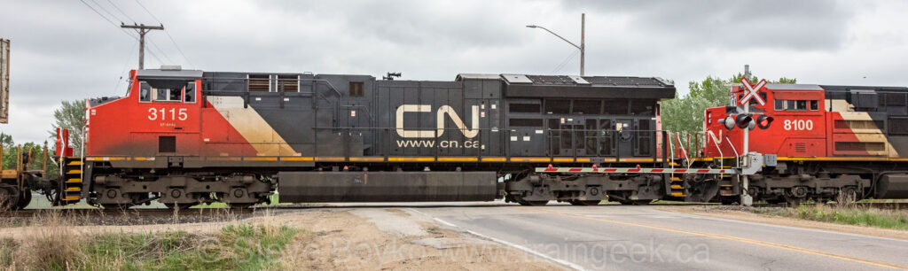 CN 3115 in Dugald, May 31, 2018