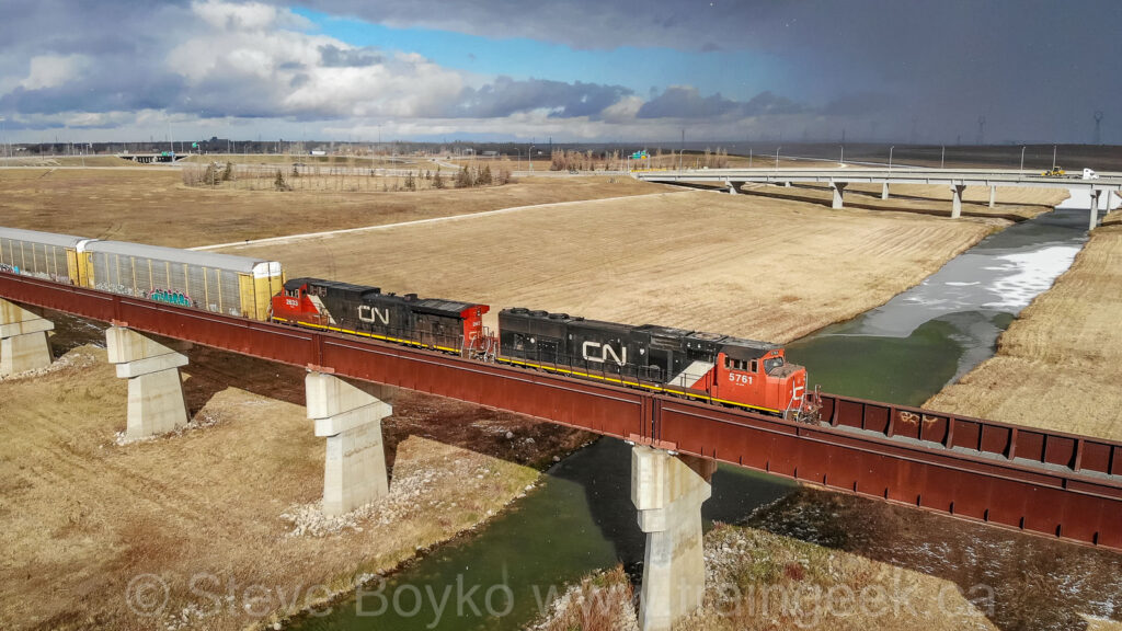 Crossing the Floodway