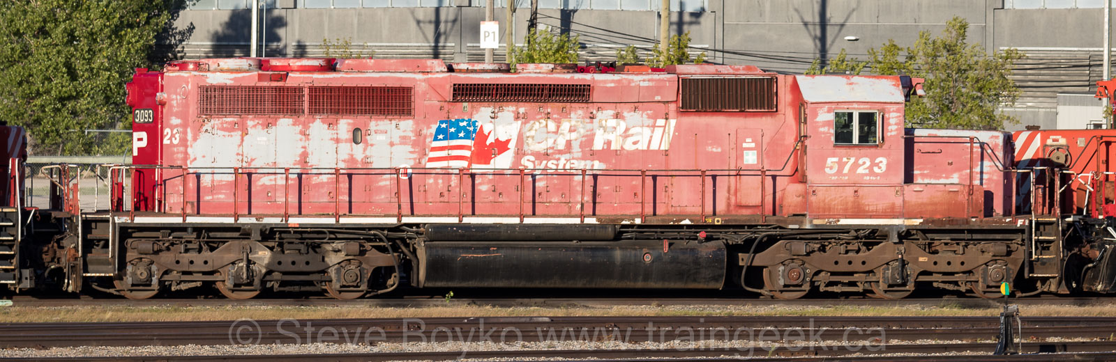 CP 5723 in Winnipeg, Sept 3 2020