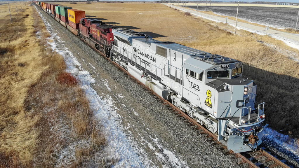 CP 7023 from above
