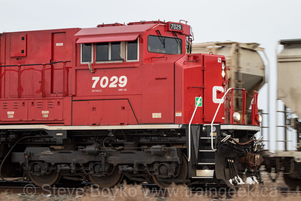 CP 7029 leading the charge east