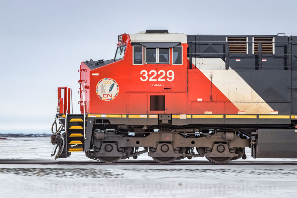 CN 3229, up close and personal