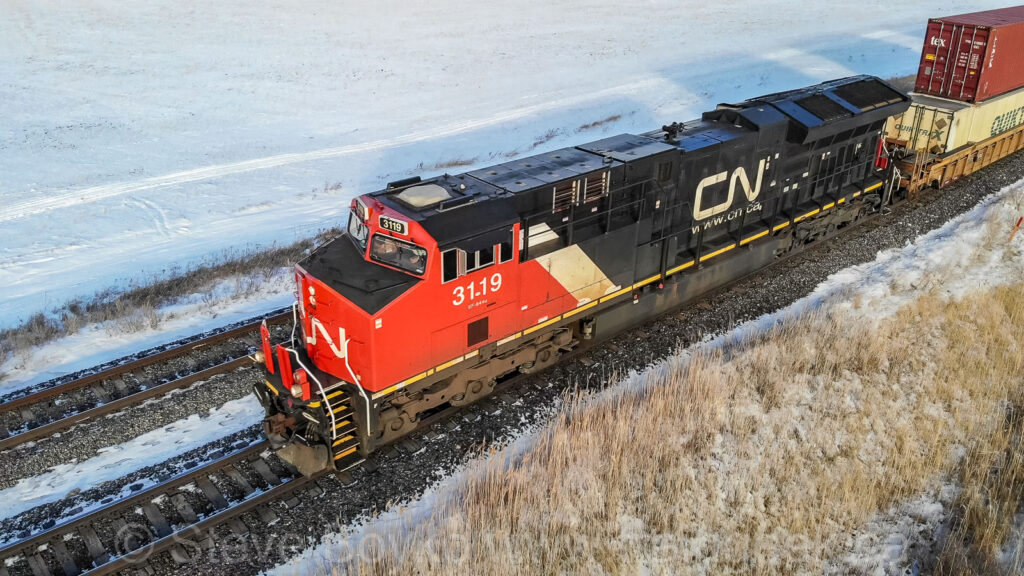 CN 3119 from above