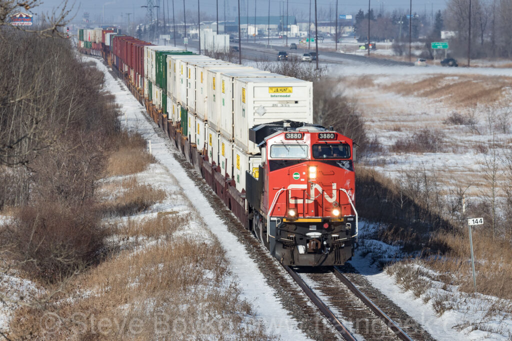 CN 3880 East at mile 144