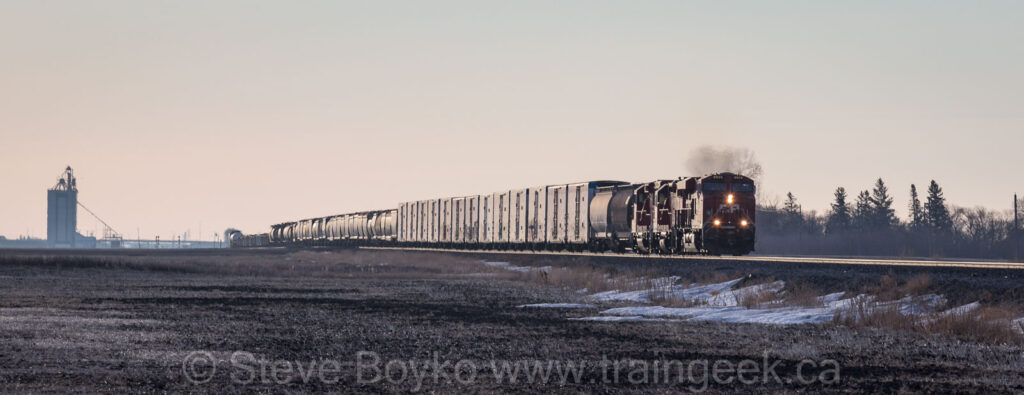 CP 8925 on the move