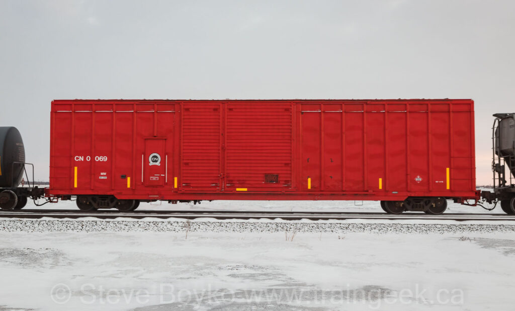 Distributed boxcar CN 0069