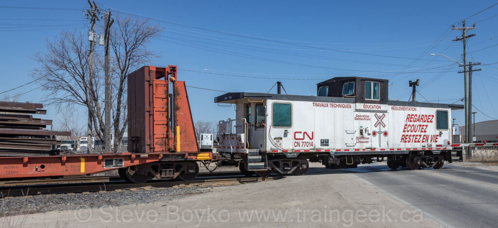 Operation Lifesaver caboose CN 77014