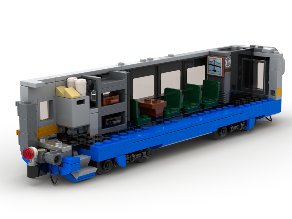 LEGO LRC economy car interior