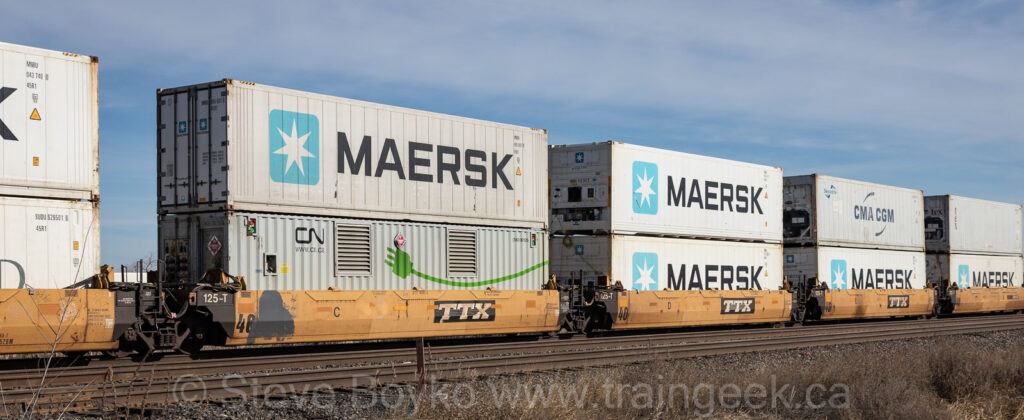 MAERSK all the way