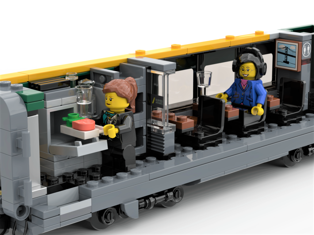 LEGO LRC car interior
