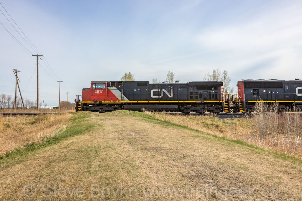 Side view of CN 2617