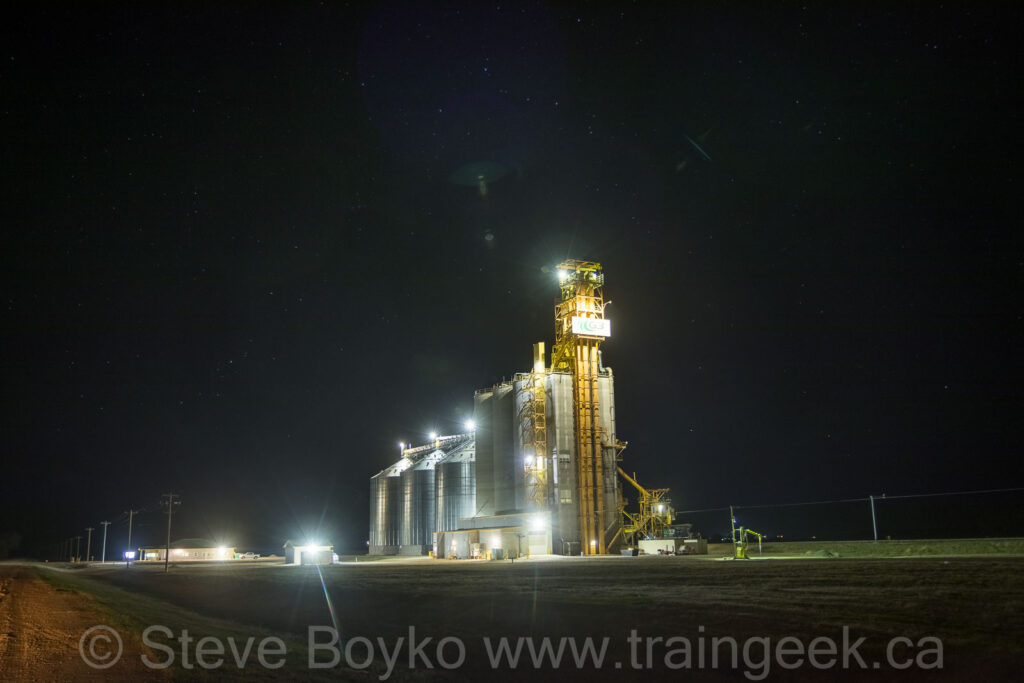 The G3 grain elevator at Bloom
