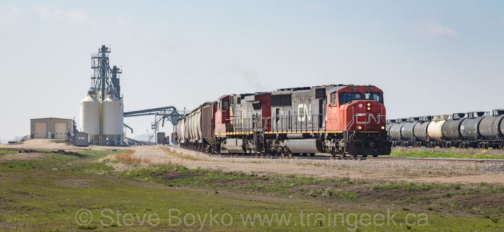 Working Mid Canada Transload