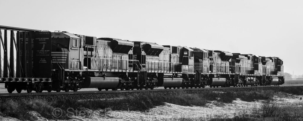 Norfolk Southern, BNSF and CP, oh my!
