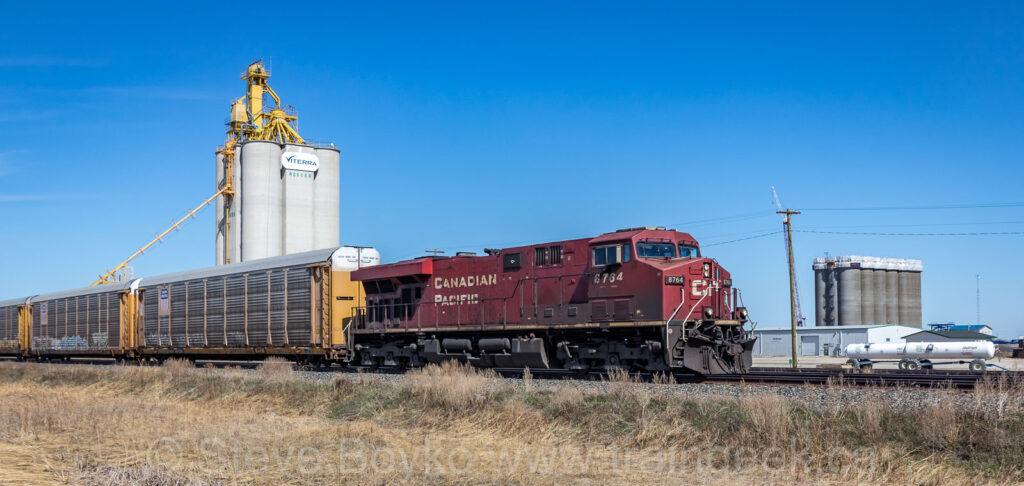 CP 8764 East, finally