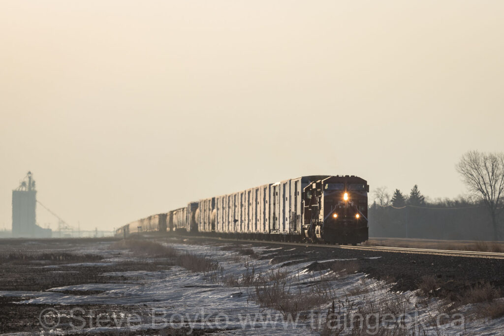 CP 9709 on the move