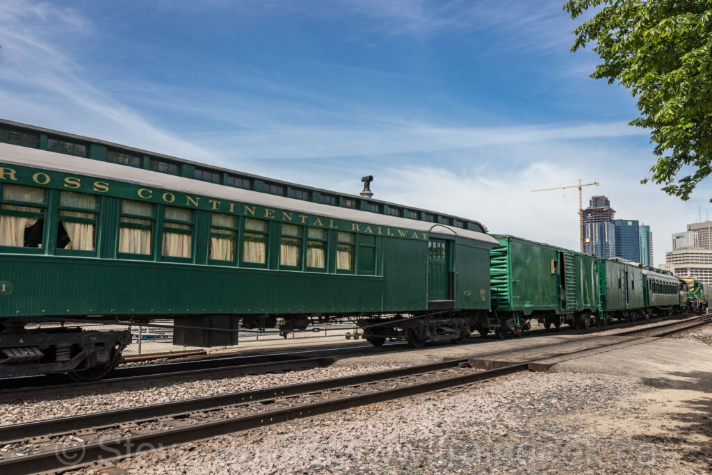 The Cross Continental Railway has arrived