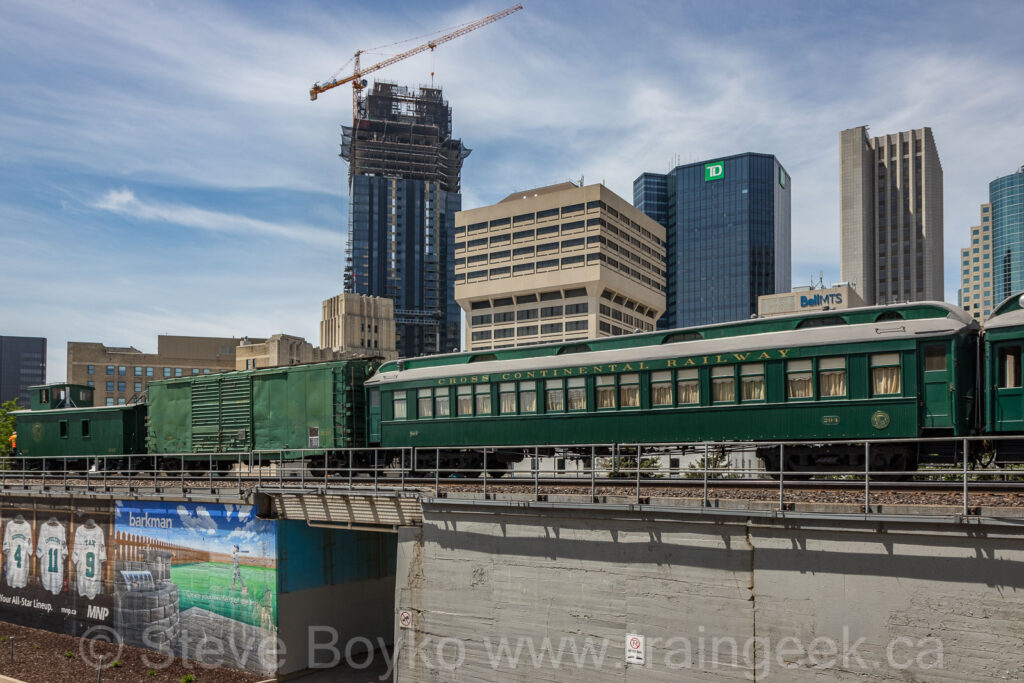 300 Main and the TD Tower in downtown Winnipeg