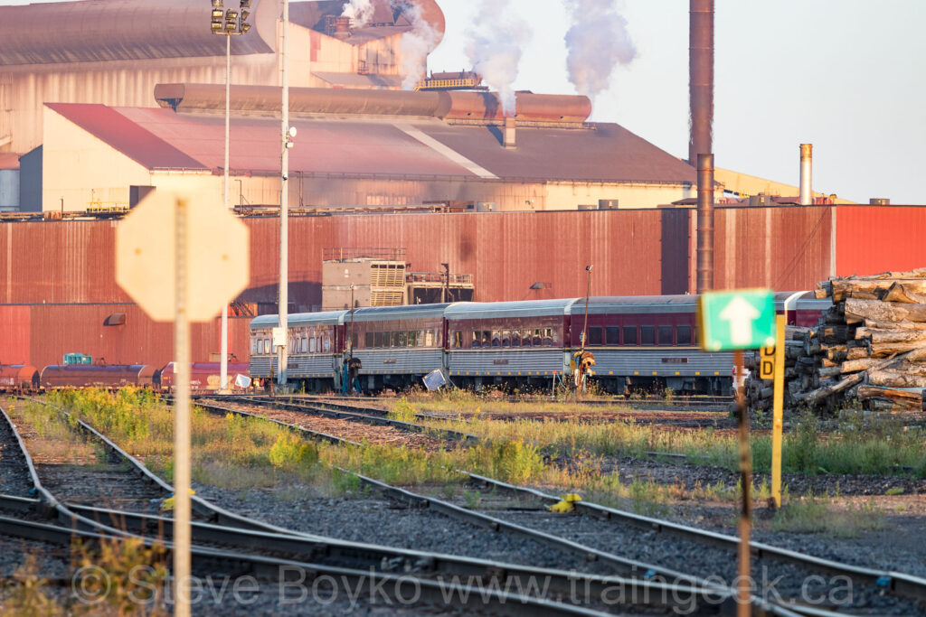 Passenger cars and steel mills